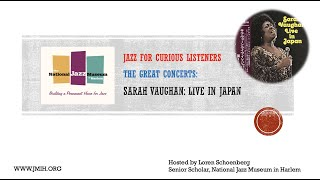 The Great Concerts - Sarah Vaughan in Japan 1973