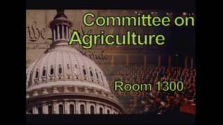 Subcommittee on Nutrition – Public Hearing RE: Improving SNAP Employment and Training Programs