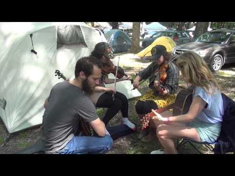 Clifftop 2015 Camp Jam Clips #7 -  Appalachian String Band Music Festival