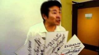 カスタムCARの名物コーナー「オレのカスタム DO〜でSHOW」の撮影現場に...