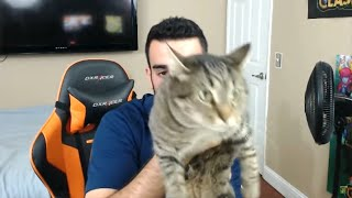 Top 5 SCARIEST MOMENTS CAUGHT ON LIVE STREAMS! (Earthquake, Cat Attack, Twitch)