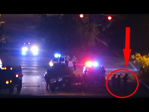 Thumbnail: POLICE SHOOTOUT CAUGHT ON CAMERA!!