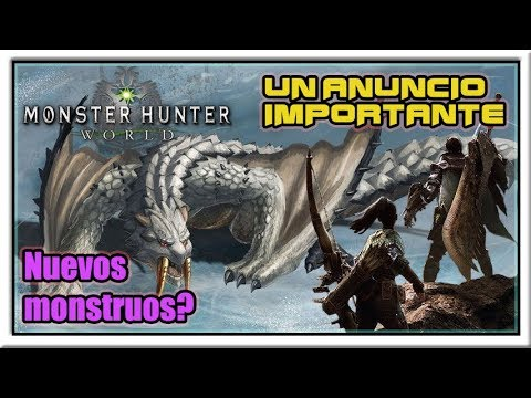 ¿Nueva actualizacion para Monster Hunter World? - Noticias despues de los Game Awards! thumbnail