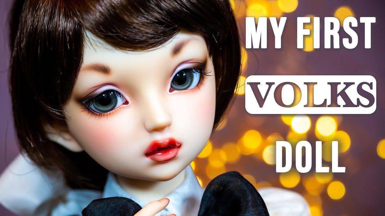 Download VOLKS BJD Jo March (Lorina) Super Dollfie doll Unboxing