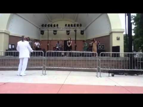 Cato falls at metro jam! June 23rd 2012