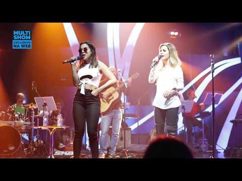 Anitta & Sandy - Quando Você Passa Turu Turu  Ensaio Música Boa Ao Vivo