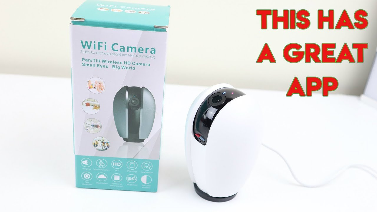 Zeetopin WiFi IP Camera Review 2019