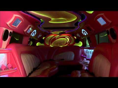 Pink Hummer Limo - Hummer Limousine Rentals