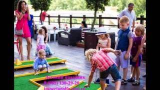 Детский праздник в стиле гольф