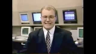 meteorologist john basham on kxxv tv news 25 texas in 1996