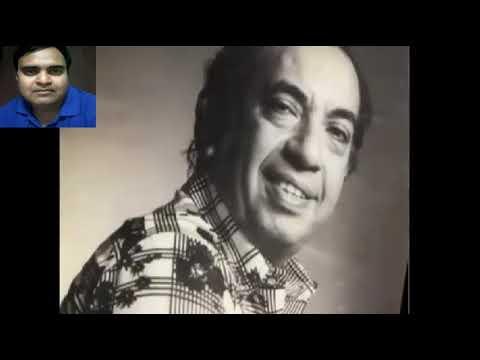 aadha hai chandrma karaoke only for male singers by Rajesh Gupta