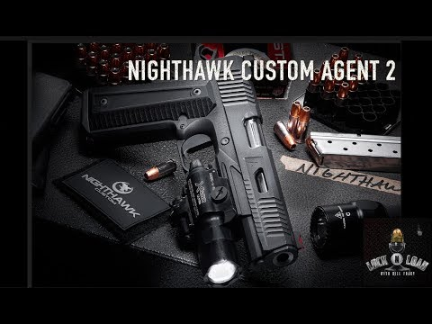 NightHawk Customs Pistol Agent 2-SHOT Show 2018