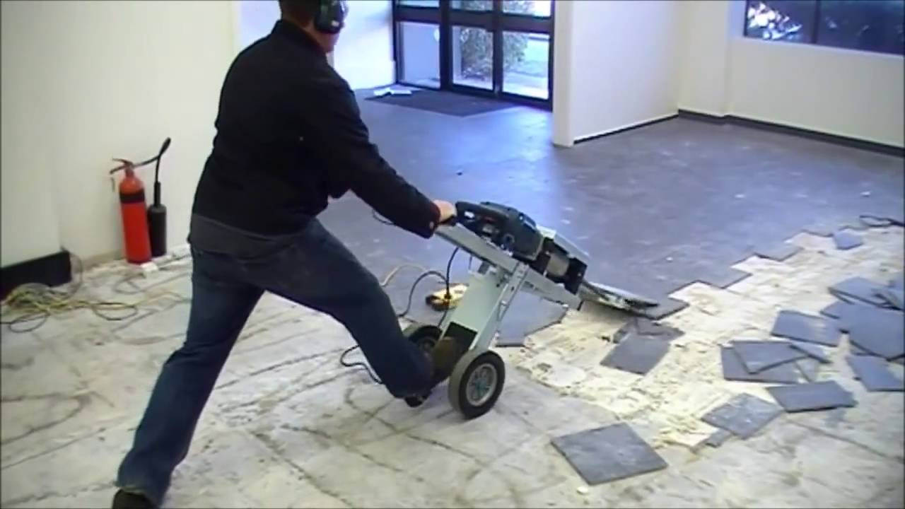 Makinex Jackhammer Trolley Jht Fastest Way To Remove Floor Tiles