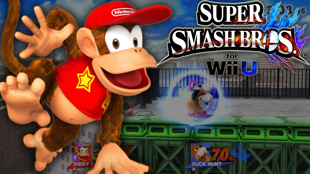 Super Smash Bros. 4 Wii U - For Glory Diddy Kong - YouTube