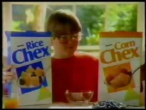 Rice and Corn Chex commercial