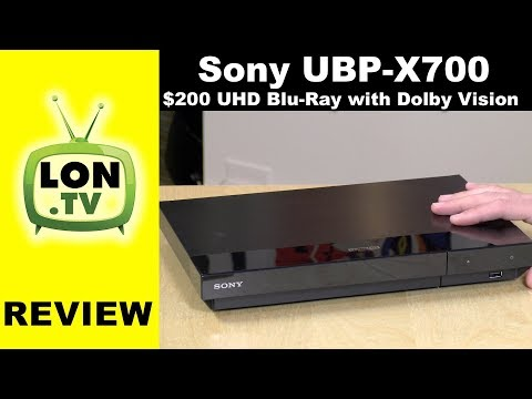 Sony UBP-X700 Review - 4K Ultra HD Blu-ray Player with Dolby Vision - Home Theater Series Continues!