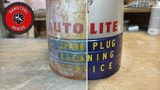 1940s Spark Plug Cleaner [Restoration]