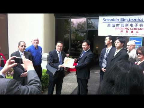 Stonkin Electronics USA LLC Grand Opening in Cupertino, CA