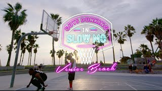 Ridiculous Dunks in Slow Motion Vol. 3 | Venice Beach Edition