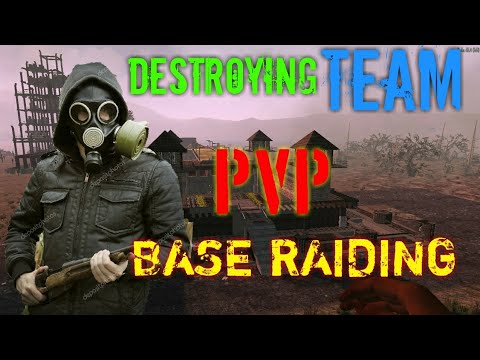 7 DAYS TO DIE: Base Raid & Destroying Team (PvP)