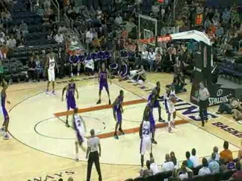 NBA Pretemporada 20/10/2009 - Sacramento...