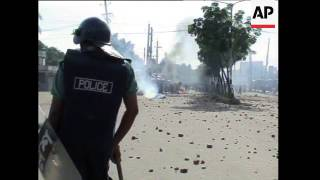 Bangladesh - Student Protests Against Government and Clashes With Police / Arrest of Former Premier