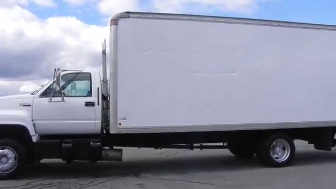 1996 Gmc Topkick Box Truck Youtube 6500 Mitula Cars