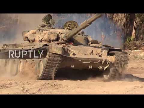 Syria: Government forces re-capture Deir ez-Zor's al-Husseiniyeh village