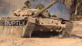 Syria: Government forces re-capture Deir ez-Zor's al-Husseiniyeh village