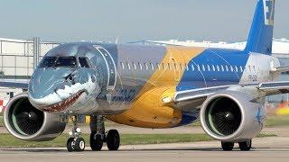 Videos: Embraer E-Jet E2 family - WikiVisually