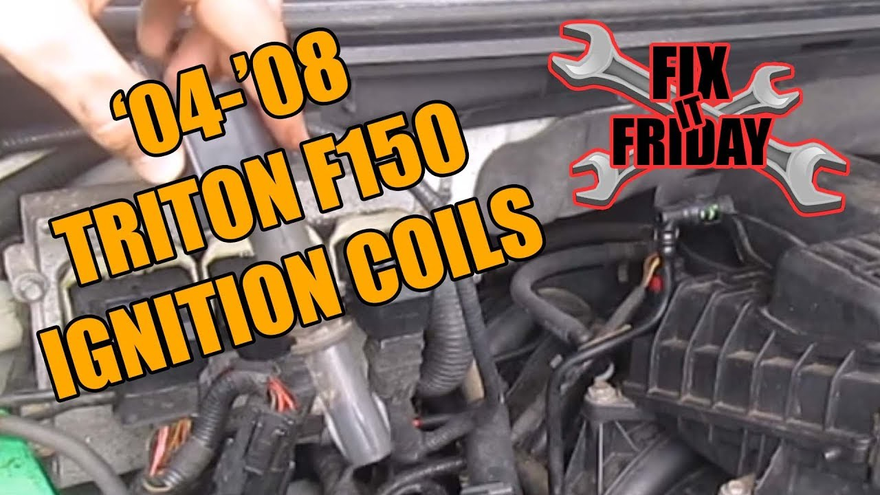 2004 08 F150 Ignition Spark Plug Coil Replacement