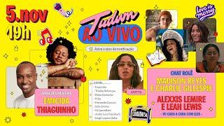 #TudumDia3 vulgo último dia com prima Maisa, Emicida, Thiaguinho e Julie and The Phantoms