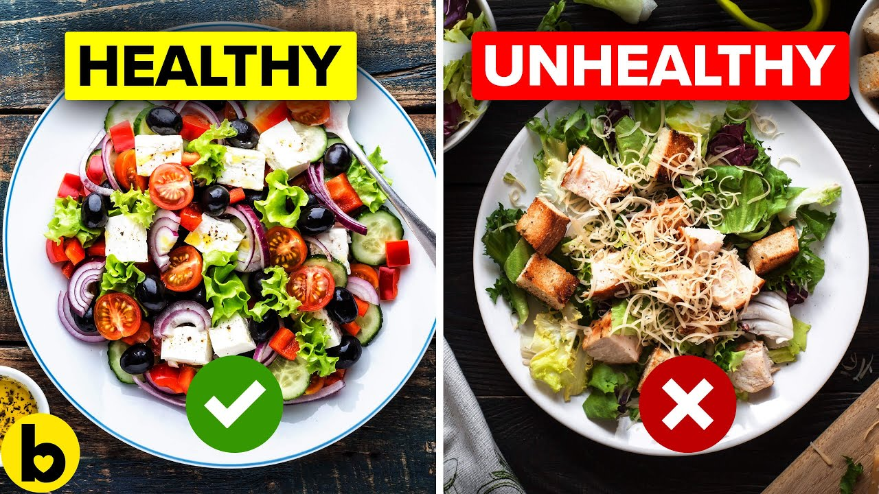 12 Mistakes that are making your Healthy Salad unhealthy