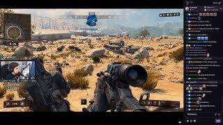 Shroud Plays COD: Blackout (Battle Royale)