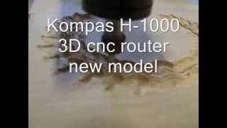 Kompas  H1000 3D router