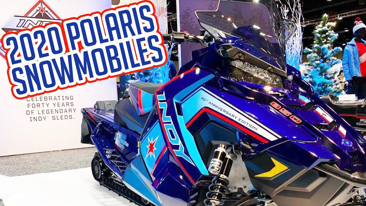Best Snowmobile 2020 2020 POLARIS SNOWMOBILE REVEAL   YouTube