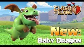 Baby Dgragón!!Nueva tropa CLash Of Clas /JuanH Coc/Clash Of Clans En Español