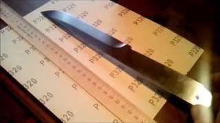 Метательный нож из напильника.