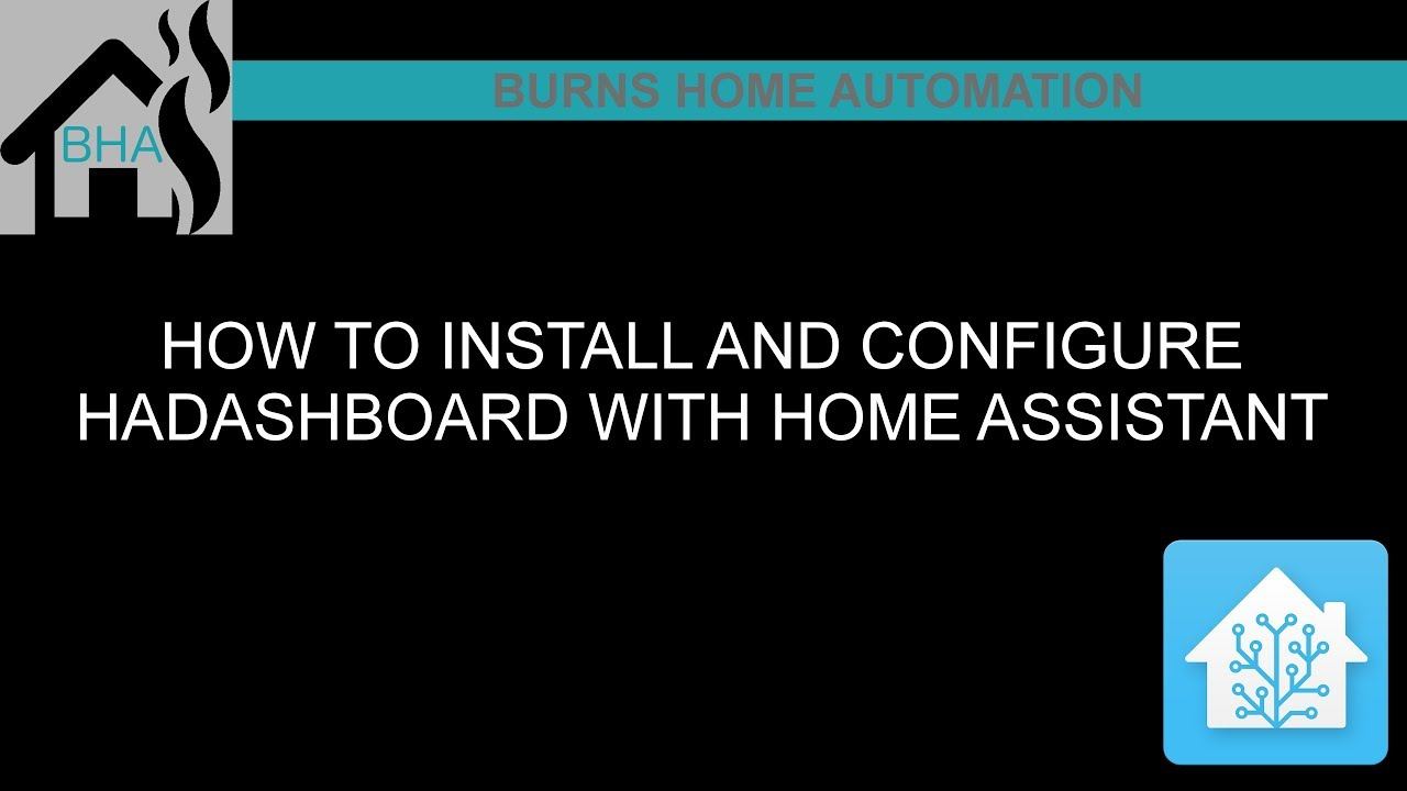 How to install and configure HADashboard with Home Assistant