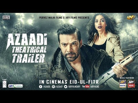 [Trailer] AZAADI - Moammar Rana   Sonya Hussyn   Nadeem Baig {ARY Films}