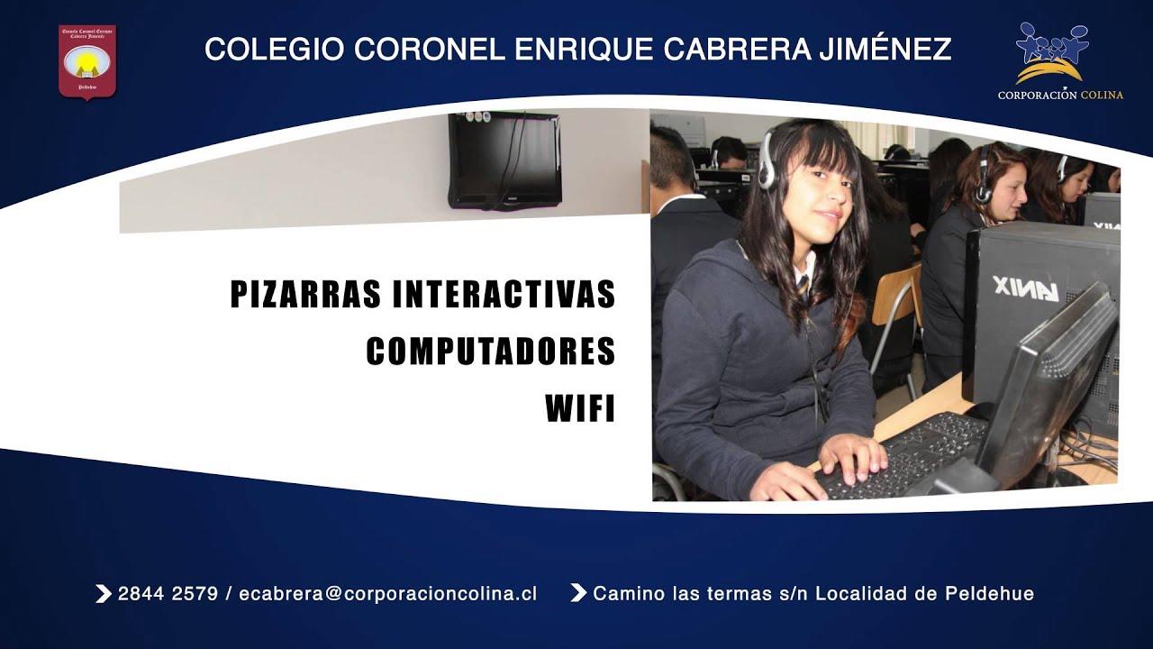 Coronel Enriqu: AFICHE COLEGIO ENRIQUE CORONEL CABRERA