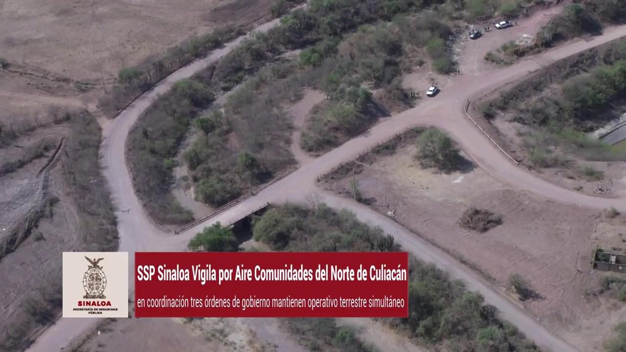 Sobrevuelo de Vigilancia Norte de Culiacán