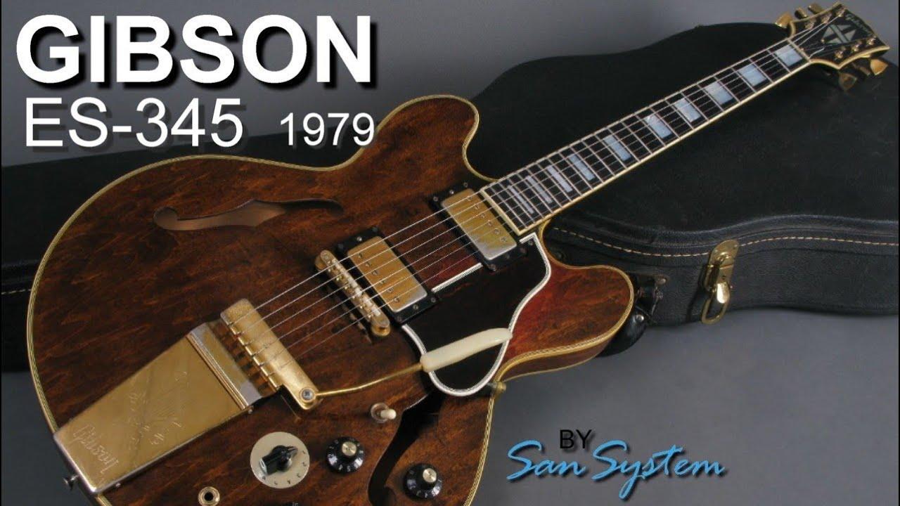 gibson es 345 stereo 1979 walnut varitone youtube. Black Bedroom Furniture Sets. Home Design Ideas
