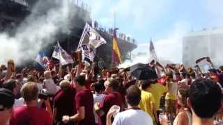 Detroit City FC vs AFC Cleveland 2013 NPSL Midwest Great Lakes Semifinal (DCFC MARCH IN)