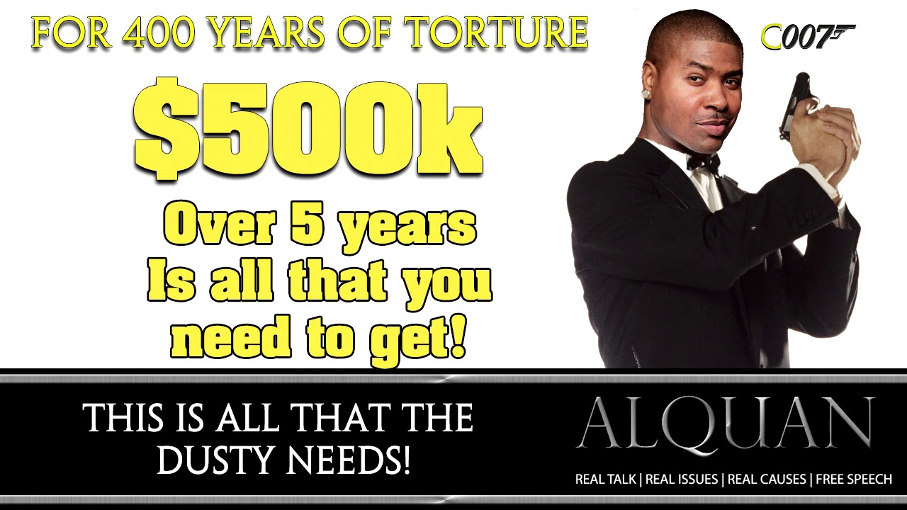 $500K is all you need for reparations!