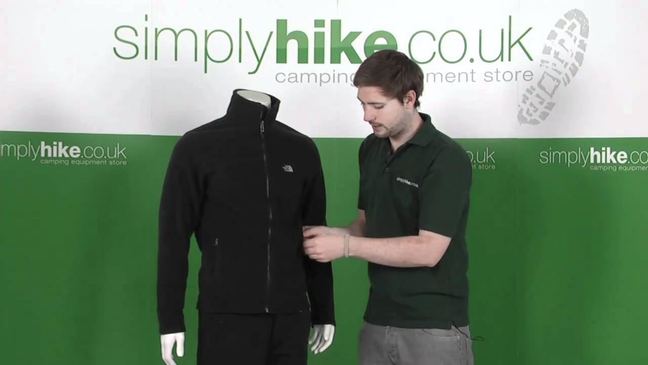 185c264051 The North Face Mens 100 Full Zip Fleece - www.simplyhike.co.uk - YouTube