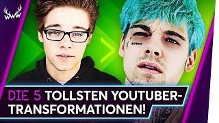 Die 5 TOLLSTEN YouTuber-Transformationen! | TOP 5