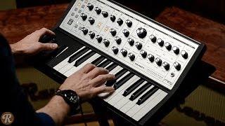 Moog Sub Phatty Analog Synthesizer Demo