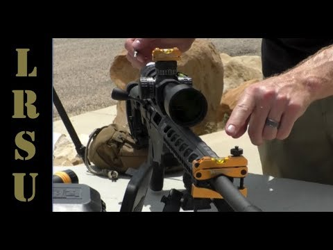 Mounting & Leveling A Precision Rifle Scope for Long Range Shooting