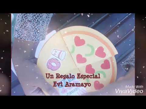 Tarjeta Pizza 💕💛